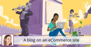 A blog on an eCommerce site • Yoast