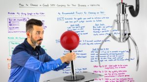 How to Choose a Good SEO Company for Your Business or Website Whiteboard Friday