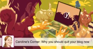 Why you should quit your blog now • Yoast