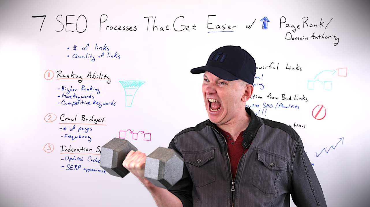 7 SEO Processes That Get Easier with Increased PageRank/Domain Authority Whiteboard Friday